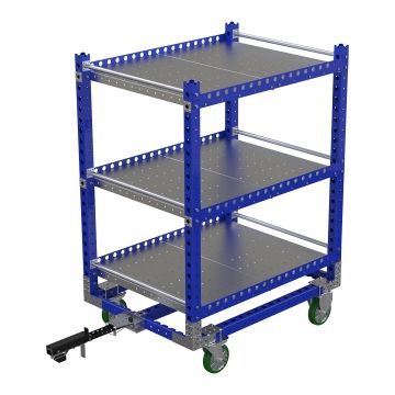 Flat Shelf Cart 55 x 41 inch