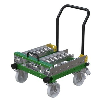 Two Slot Conveyor Cart