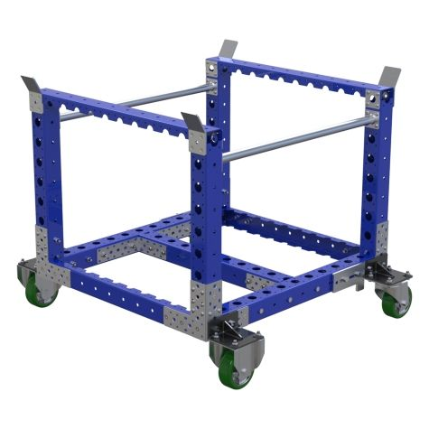 Stackable Low Rider Cart - 910 x 840 mm
