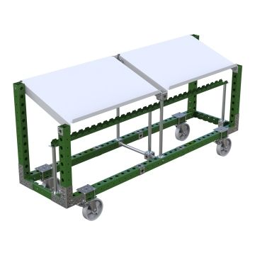 Angled Assembly Table - 2310 x 630 mm