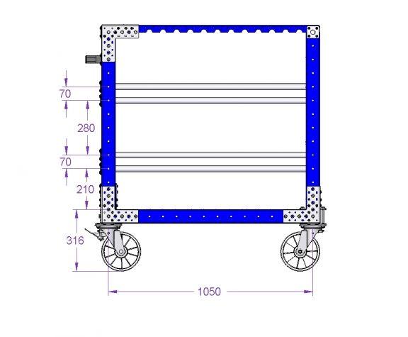 Hanging cart-1120 X 980 mm