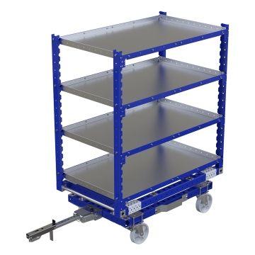 Flat Shelf Cart - 1400 x 840 mm