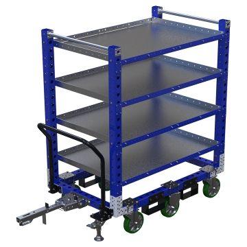 Flat Shelf Cart – 840 x 1330 mm