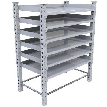 Flat Shelf Rack – 770 x 1400 mm
