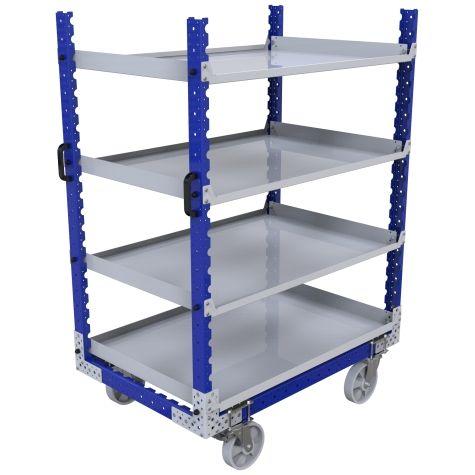 Flat Shelf Cart – 840 x 1260 mm