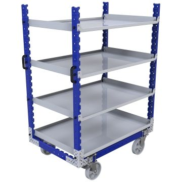 Flat Shelf Cart – 840 x 1260 mm