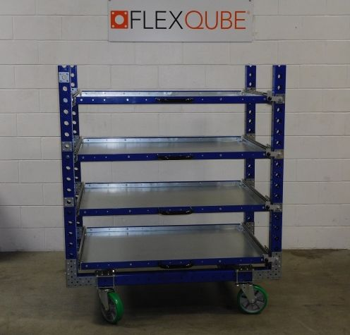 Extendable Shelf Cart - 1400 x 840 mm