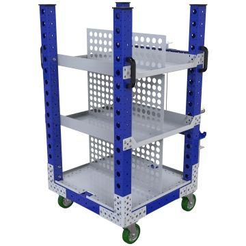 Flat Shelf Cart – 700 x 700 mm
