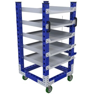 Flat Shelf Cart – 700 x 700 mm