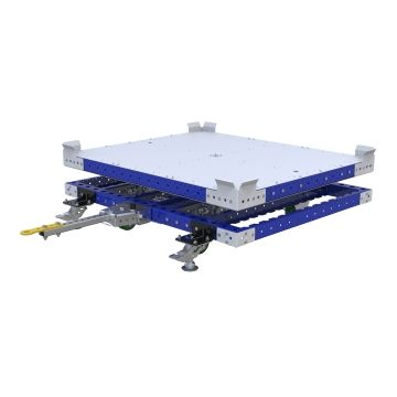 Carro remolcador giratorio - 1120 x 1330 mm