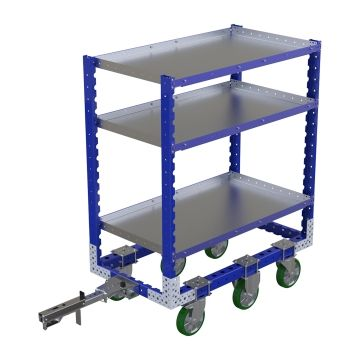 Flat Shelf Cart – 1260 x 700 mm