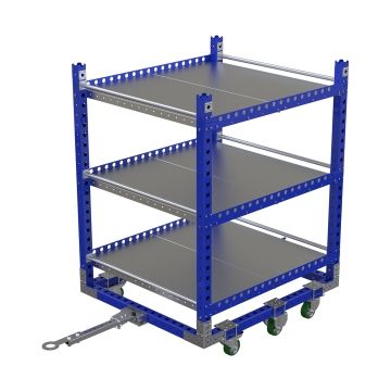 Flat Shelf Cart 55 x 48 inch