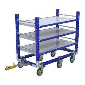 Flat Shelf Cart – 840 x 1680 mm