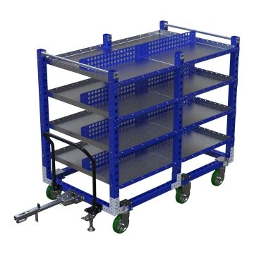 Flat Shelf Cart - 1890 x 1120 mm