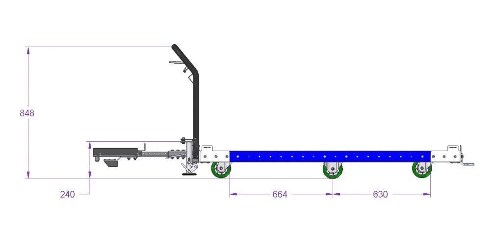 Tugger Cart - 1680 x 1260 mm