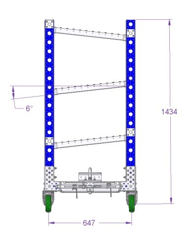 Flow Rack - 1260 x 700 mm