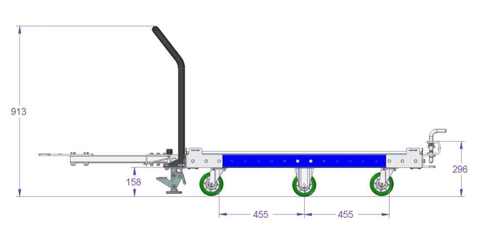 Tugger Cart - 48 x 45 inch