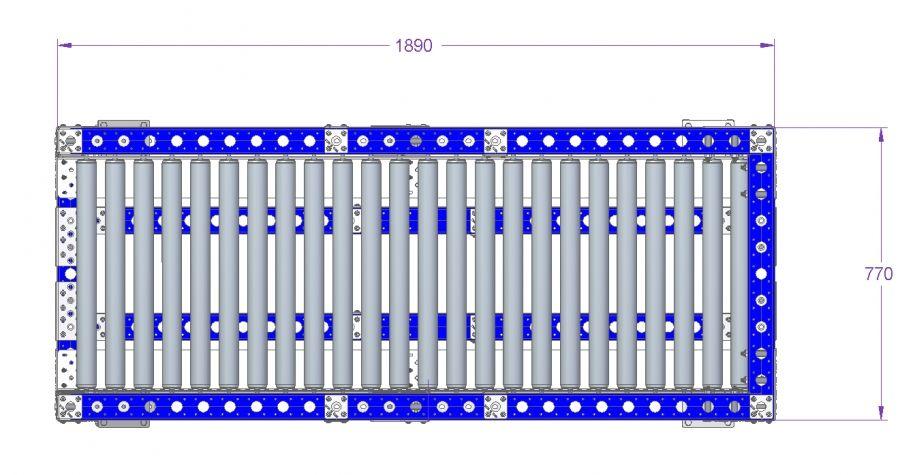Flow Rack - 1890 x 770 mm