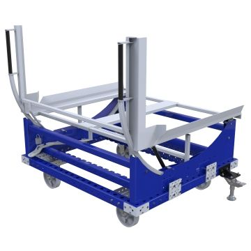 Carro inclinable: 1260 x 1400 mm