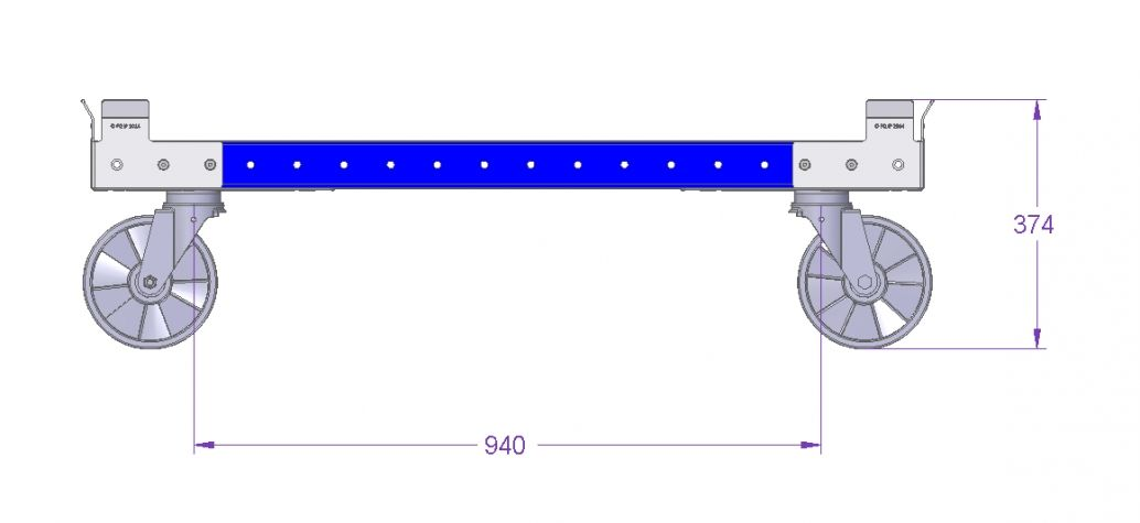 Pallet Cart - 1240 x 840 mm