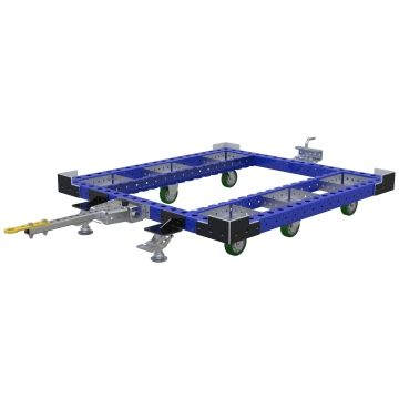 Carro remolcador de palés - 1260 x 1330 mm