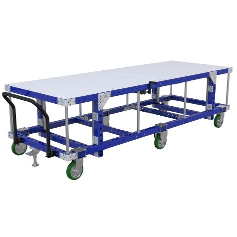 Adjustable Height Cart – 1120 x 3080 mm