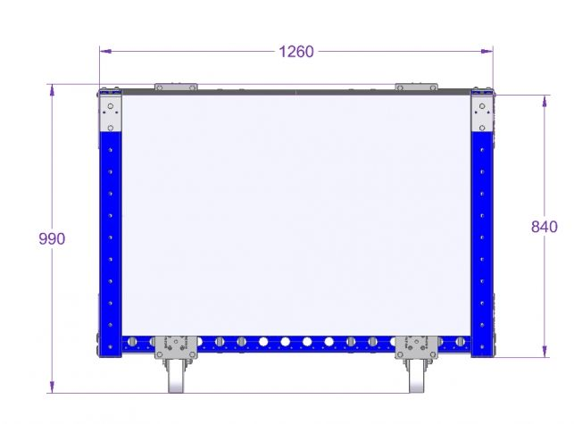 Compartment Cart For 280 x 120 mm Slots