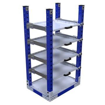 Extendable Shelf Rack – 630 x 840 mm