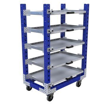 Extendable Shelf Cart – 630 x 1050 mm