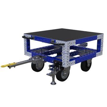 Carro remolcador con repisas - 910 x 910 mm
