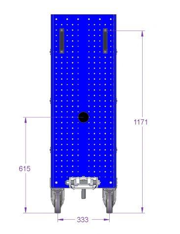 Shelf Cart - 830 x 420 mm