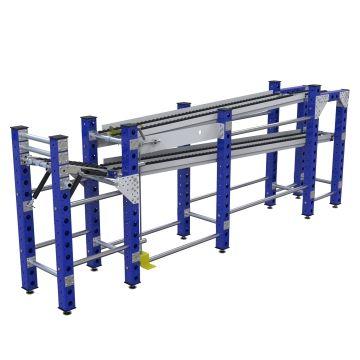 Rack de flujo - 560 x 2880 mm
