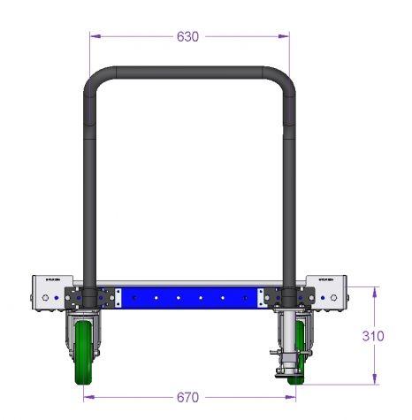 Pallet Cart - 1050 x 980 mm