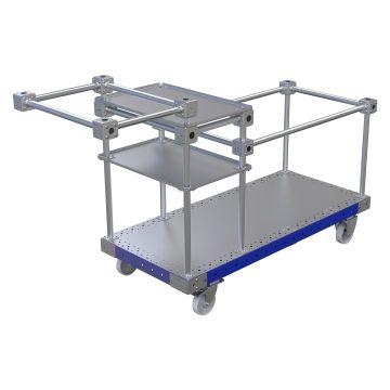 Light Weight bin trolley 1400 x 630 mm