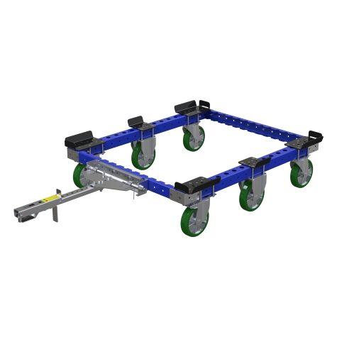 Tugger train pallet cart 50 x 41 inch