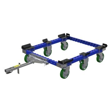 Tugger train pallet cart 50 x 41 inch