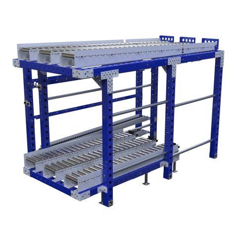 Roller Rack – 1050 x 2170 mm