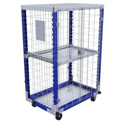 Flip Up Shelf Cart – 1190 x 770 mm