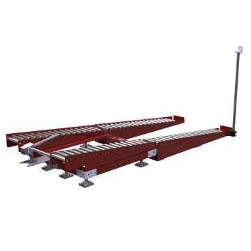 Rack de rodillos - 2520 x 950 mm
