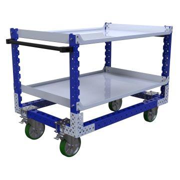 Flat Shelf Cart – 1260 x 840 mm