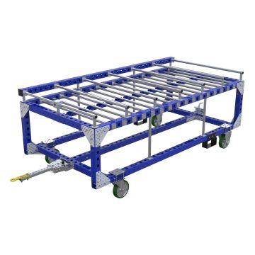 Carro remolcador de transporte de baterías - 2590 x 1260 mm