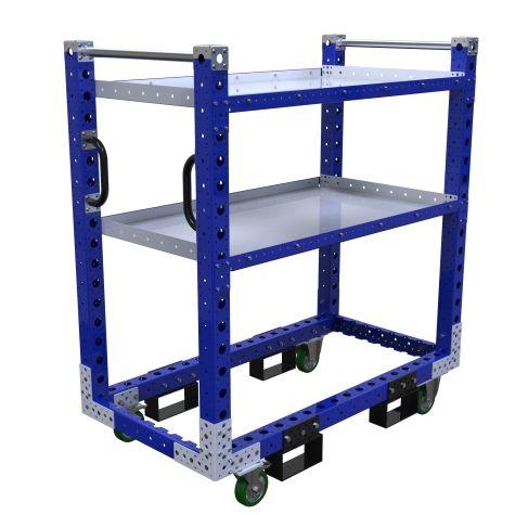Flat Shelf Cart – 1330 x 700 mm