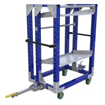 Flow Shelf Tugger Cart – 1050 x 700 mm