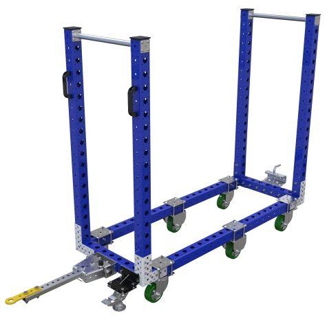 Flat Shelf Cart – 630 x 1680 mm