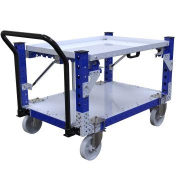 Flip Up Shelf Cart – 1260 x 840 mm