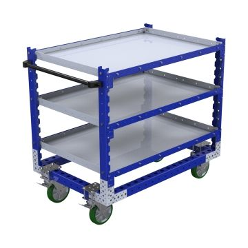 Flat Shelf Cart -1260 x 840 mm