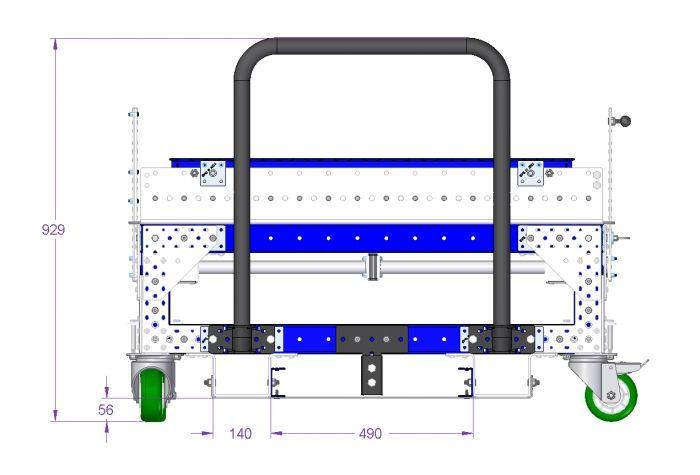 Pallet Rack - 1120 x 1120 mm