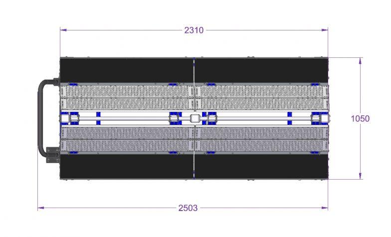 Kit Cart - 2310 x 1050 mm