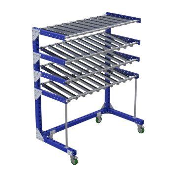 Flow Shelf Cart - 840 x 1610 mm