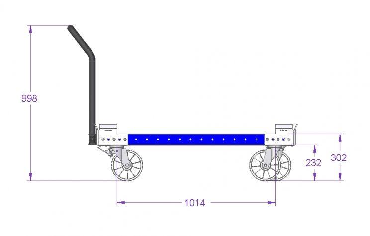 Pallet Cart 1260 x 1190 mm